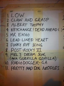 Rockfield Song Chart